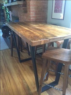 Custom Made Bar Height Tables