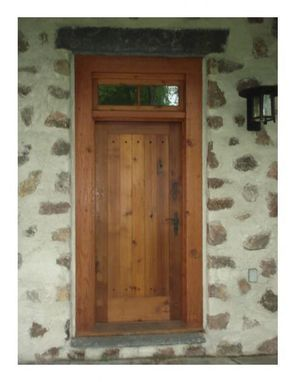 Custom Made Reclaimed Antique Lumber Doors & Windows
