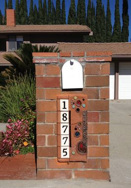 Custom Made Address Plaque (House Numbers)