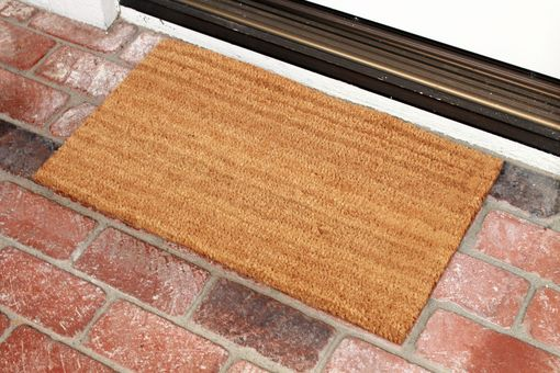 Custom Made Custom Door Mats --Dm-Coir-Happyholidays