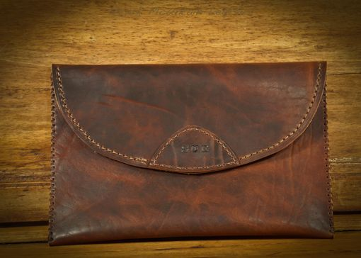 Custom Made Horween Leather Clutch