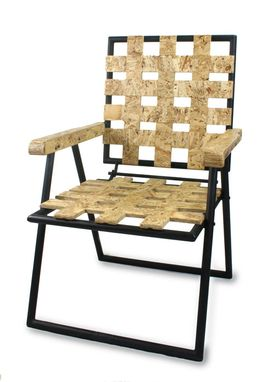 Custom Made Custom Osb And Steel Chair