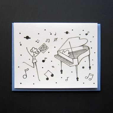 Custom Made Musically Inclined Stationery Set