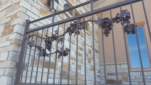 Custom Made Custom Steel Grapevine Railing