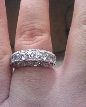 Custom Made Diamond Wedding Ring