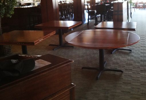 Custom Made Hinged Restaurant Dining Tables