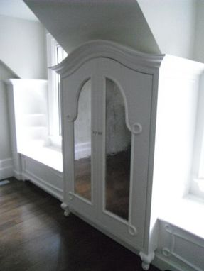 Custom Made Antiqued Mirror Installations