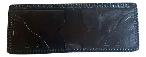 Custom Made Black Alligator Wallets