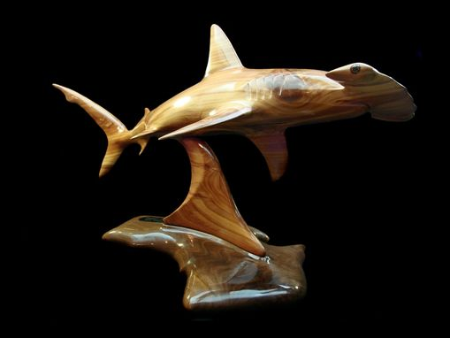 Custom Made Great Hammerhead Sculpture