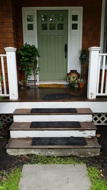 Custom Made Porch Stair Railings
