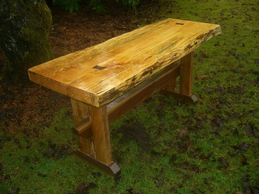 Custom Made Outdoorsman Bench