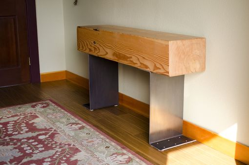 Custom Made Fir Beam Entry Console - Sofia Table