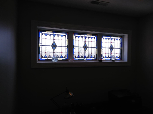 Custom Made W-118 Stained Glass Window