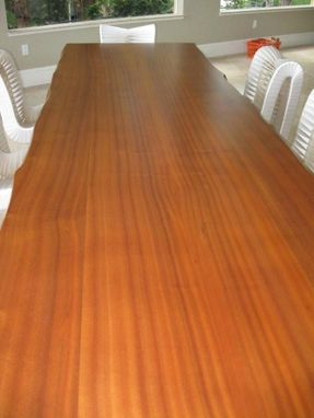 Custom Made Sapele Dining Table