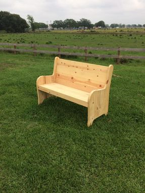 Custom Made Church Style Pews - Local Pick Up Only
