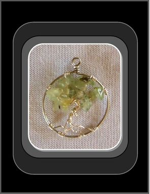 Custom Made Peridot, Protection,Healing, Tree Of Life Jewelry,Tree Of Life Pendants,Healing Jewelry, Birthstones