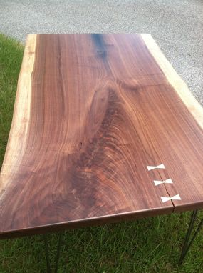 Custom Made (Sold) Live Edge Writing Desk
