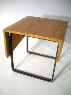 Custom Made Wrap End Table - Urban Harvested Russian Olive