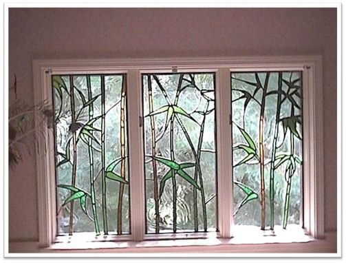 Custom Made Bamboo Windows