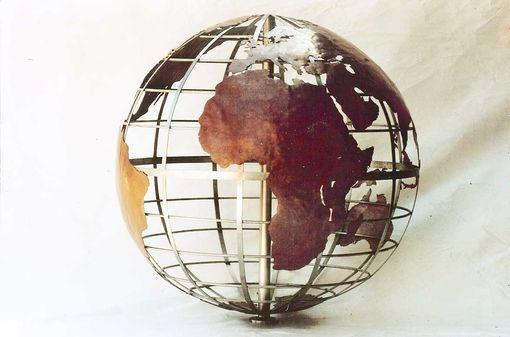 Custom Made Copper And Stainless Globe