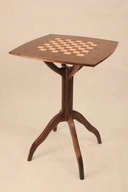 Custom Made Pub Table (Chess)