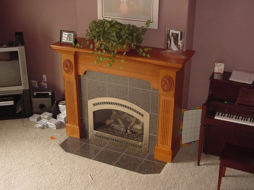 Custom Made Great Room Mantel