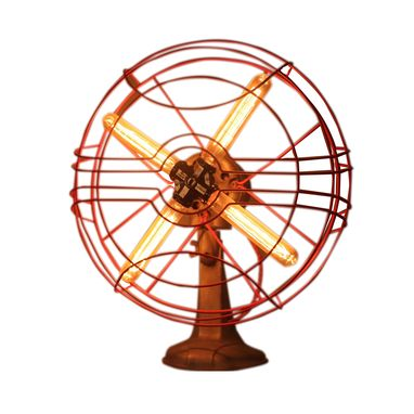 Custom Made Late 1940s Restored Vintage Hunter Fan Light