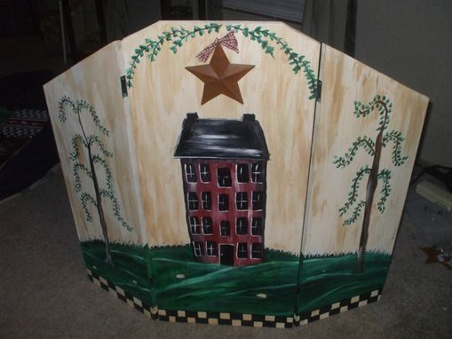 wooden fireplace screen. Handmade Painted Wooden Fireplace Screens Custom Made by
