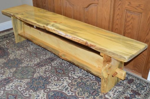 Custom Made Pine Bench