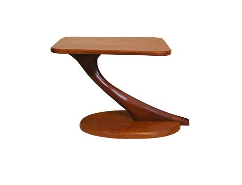 Custom Made Cantilever Side Table