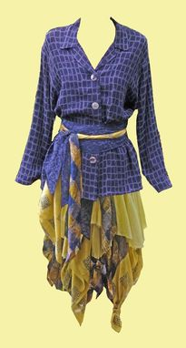Custom Made Upcycled Dresses And Ensembles
