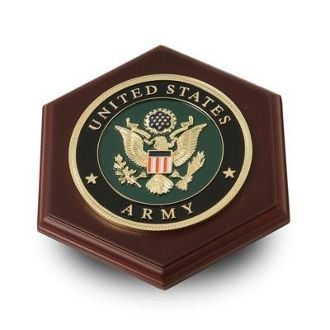 Custom Made U.S. Army Medallion Paperweight