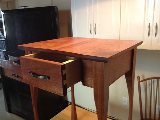 Custom Made Jatoba Bedroom Side Table