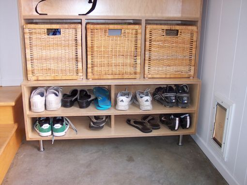 Custom Made Coat, Shoes,Hats And Glove, Entry Cabinet.