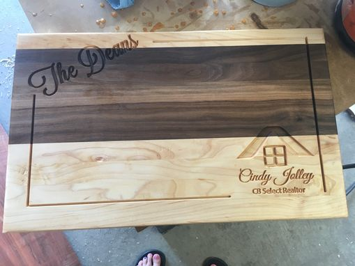 Custom Made Engraved Cutting Board