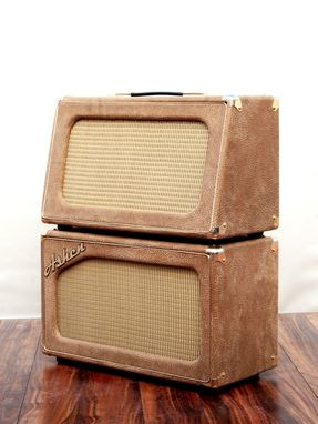 Custom Made Ashen Custom Boutique Handmade Guitar Amp Cabinet Empty (No Speakers)