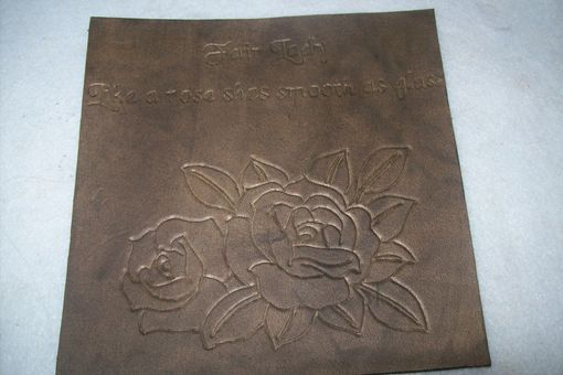 Custom Made Leather Tiles