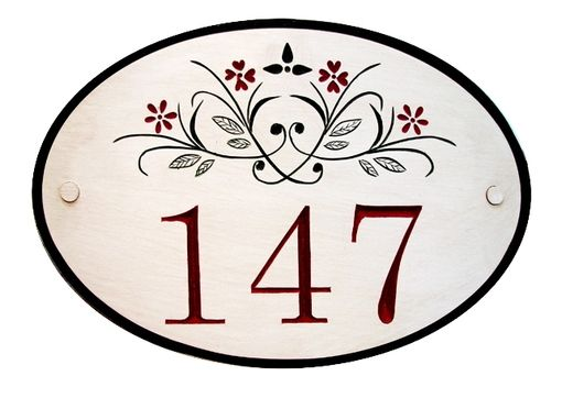 Custom Made Custom Made House Sign Numbers