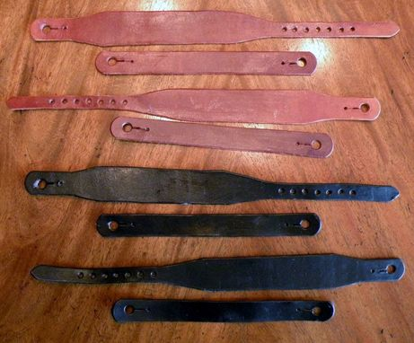 Custom Made Custom Spur Leathers For 1911 Cavalry Spurs