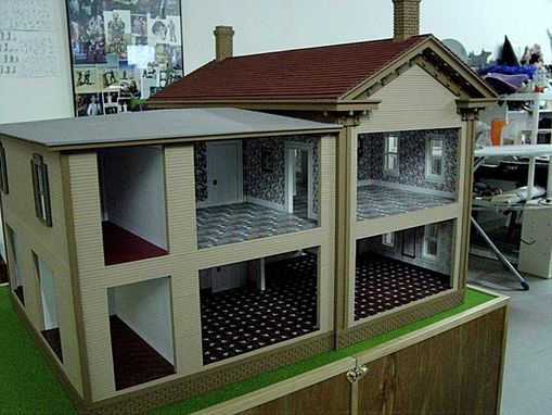 Custom Made Abe Lincoln House Minature