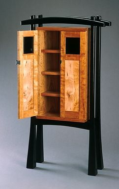Custom Made Collectors Cabinet