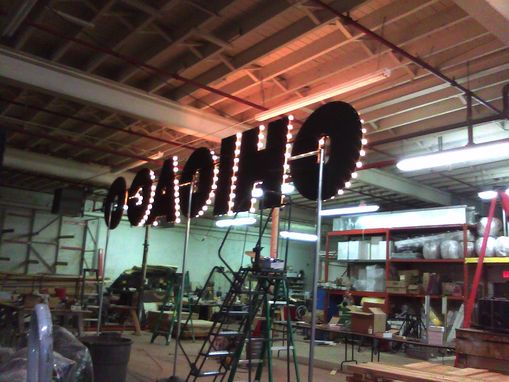 Custom Made Large Chicago Sign (Broadway Style)