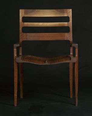 "Custom Made High Back ""St. Louis Chair"""