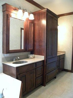 Custom Made Custom Kitchen And Bath Cabinets