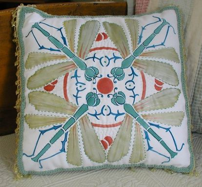 Custom Made Dragon Fly Pillow