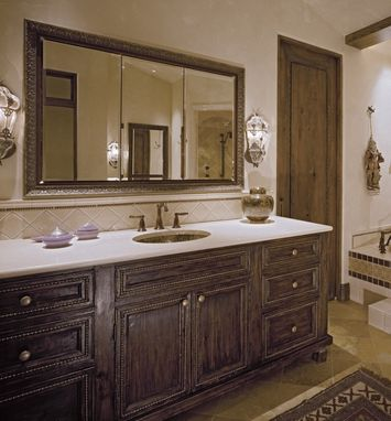 Custom Made Bathroom Cabinetry : Master Bath