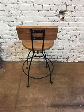 Custom Made Handmade Swivel Stools