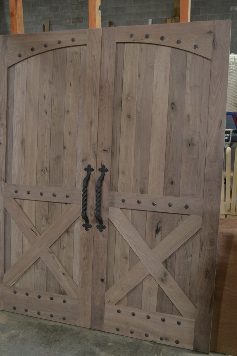 Hand Made Rustic Barn Style Doors By Corey Morgan Wood