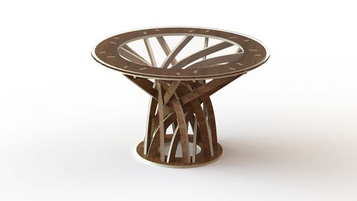 Custom Made Intertwined Table