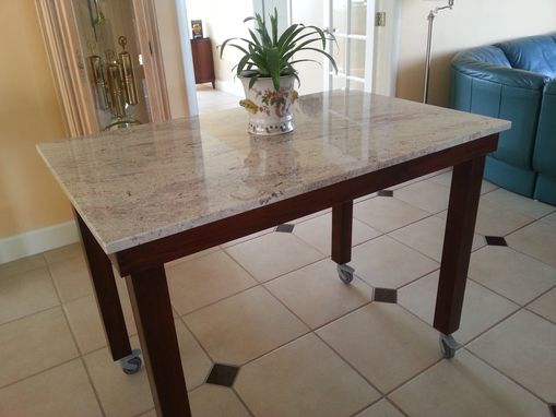 Custom Made Parson's Table